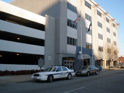 Site of Dr. Brewer's House (Police Station) Photo, Click for full size