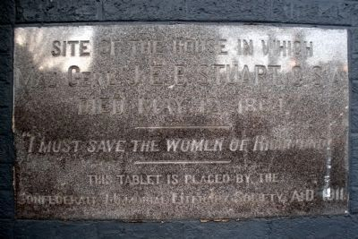 Plaque adjacent to police station door Photo, Click for full size