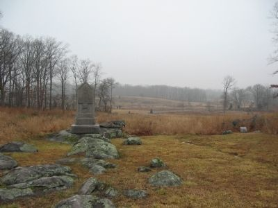5th Maine Infantry Position Photo, Click for full size