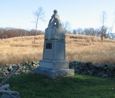 95th Pennsylvania Infantry Monument image. Click for full size.