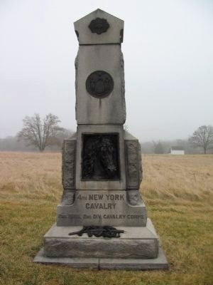 4th New York Cavalry Monument Photo, Click for full size