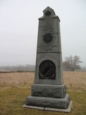 2nd New York Cavalry Monument image. Click for full size.