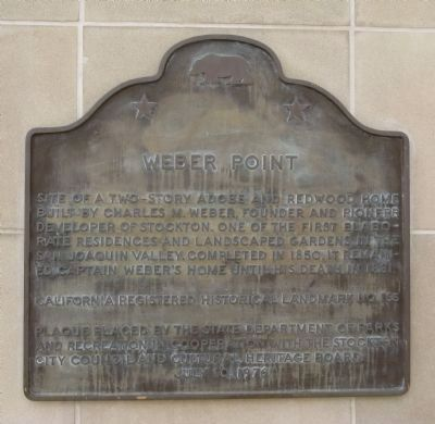 Weber Point Marker Photo, Click for full size