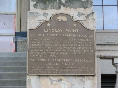 Lindsay Point Marker image. Click for full size.