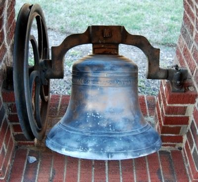 Allen Temple AME Church Bell image. Click for full size.