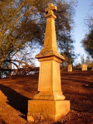 Pioneer Cemetery - James Sheran Gravestone Photo, Click for full size