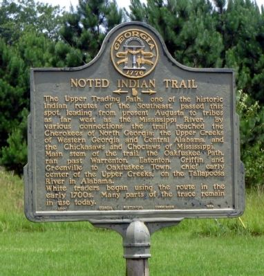 Noted Indian Trail Marker image, Click for more information