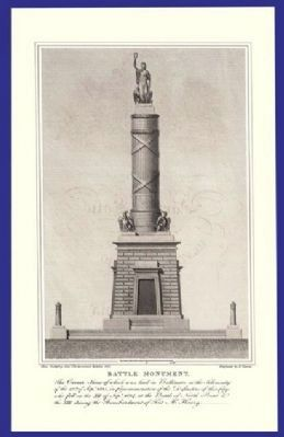 The Battle Monument Marker Photo, Click for full size