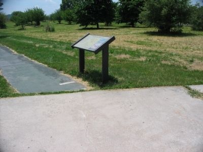 High Water Mark Walking Tour Marker Photo, Click for full size