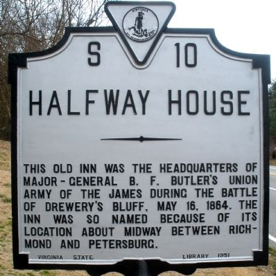 Halfway House Marker image. Click for full size.