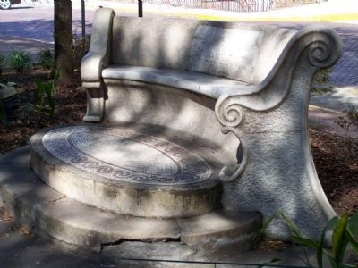 Oglethorpe Bench image. Click for full size.