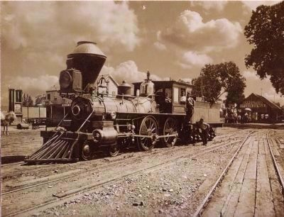 Sacramento Valley Railroad, Engine 162 image. Click for full size.
