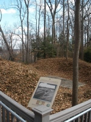 Remains of earthworks Photo, Click for full size