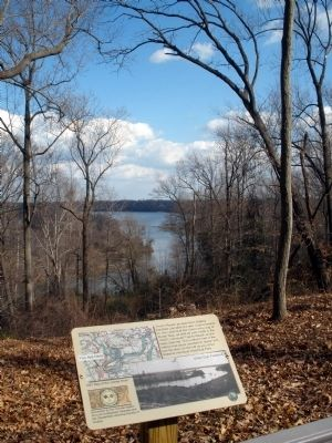 View of Trent�s Reach on the James River Photo, Click for full size