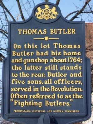 Thomas Butler Marker image. Click for full size.