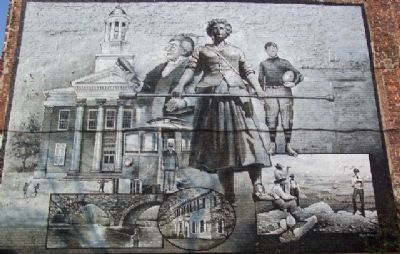 Carlisle's 250th Anniversary Mural Photo, Click for full size