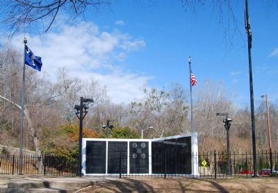 Greenville County Vietnam Veterans Memorial - South Walls Photo, Click for full size