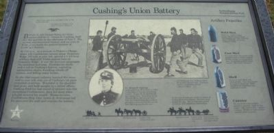 Cushing's Union Battery Marker image. Click for full size.