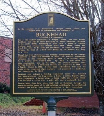 Buckhead Marker image. Click for full size.