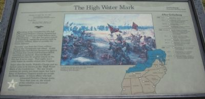 The High Water Mark Marker Photo, Click for full size