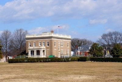 Richmond National Battlefield Park Chimborazo Visitor Center and Medical Museum. Photo, Click for full size
