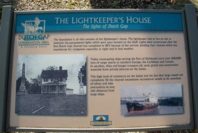 The Lightkeeper's House Marker image. Click for full size.
