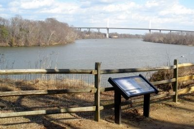 Henricus Historical Park overlooking the James River. image. Click for full size.
