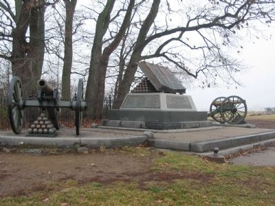 High Water Mark Monument Photo, Click for full size