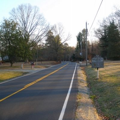 Seven Days Battles Marker on Cold Harbor Road facing south. Photo, Click for full size