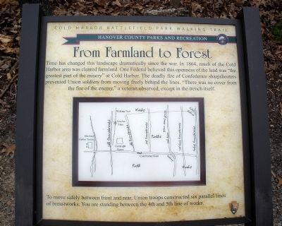 From Farmland to Forest Marker image. Click for full size.