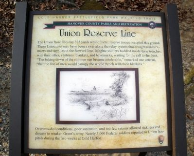 Union Reserve Line Marker image. Click for full size.