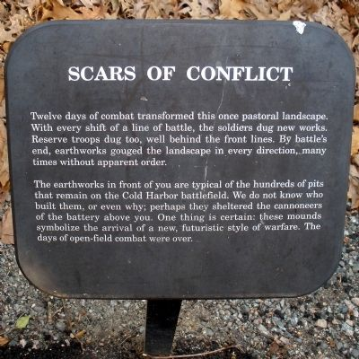 Scars of Conflict Marker image. Click for full size.