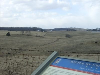 View toward the forward position of the 13th & 25th Va. Infantry image. Click for full size.
