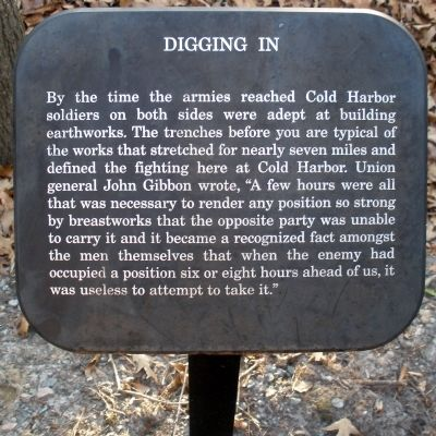 Digging In Marker image. Click for full size.