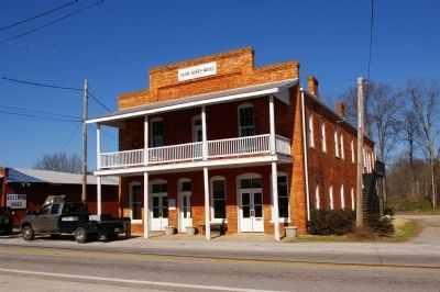 The Susie Agnes Hotel, in Bostwick. image. Click for full size.