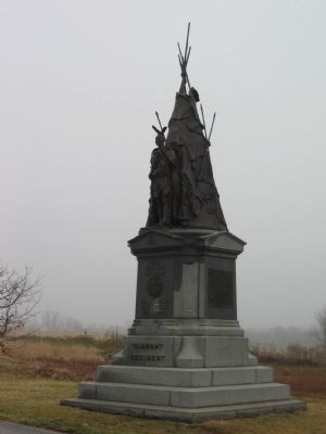 42nd New York Infantry Monument image. Click for full size.