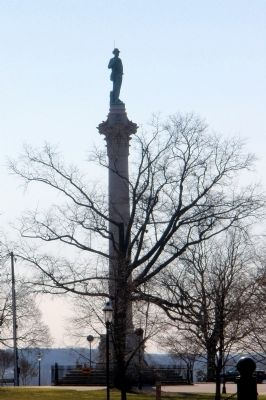 Confederate Soldiers & Sailors Monument on Libby Hill. Photo, Click for full size