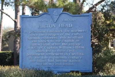 Hilton Head Marker image. Click for full size.