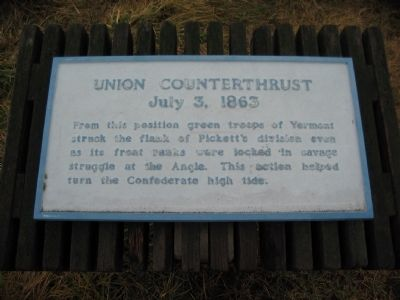 Union Counterthrust Marker Photo, Click for full size