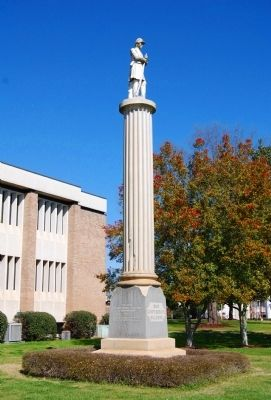 Greenwood County Confederate Monument Photo, Click for full size
