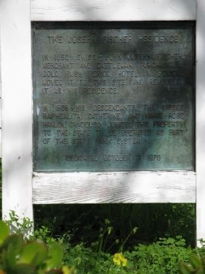 A Second Fischer-Hanlon House Marker image. Click for full size.