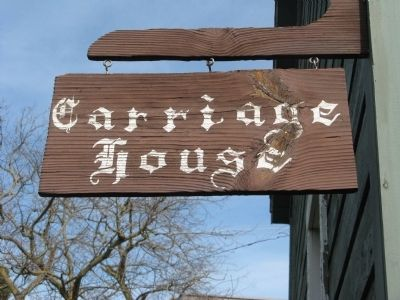 The Carriage House image. Click for full size.