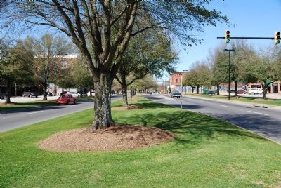 Main Street, Greenwood, South Carolina -<br>Looking North image. Click for full size.