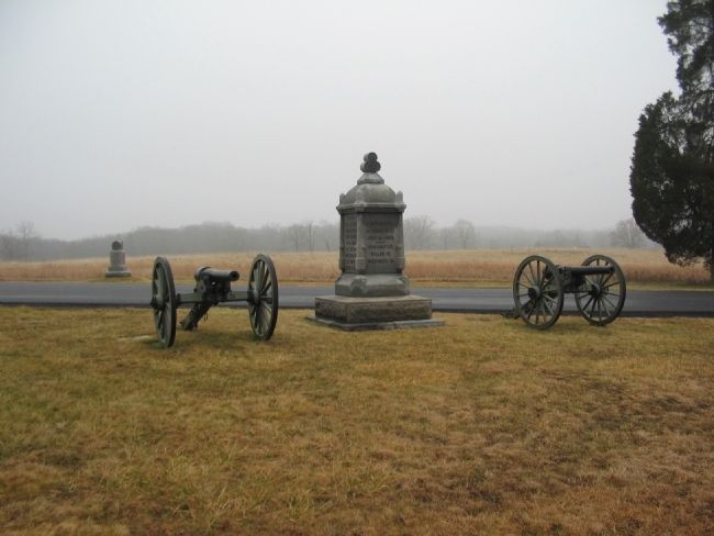 Battery B, 1st New York Light Artillery Position image. Click for full size.