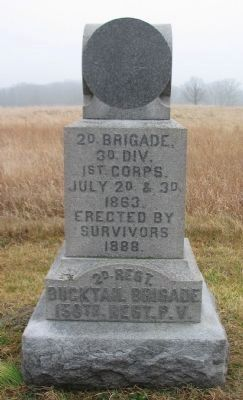 150th Regiment Pennsylvania Volunteers Monument image. Click for full size.