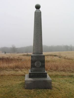121st Regiment Pennsylvania Volunteers Monument image. Click for full size.