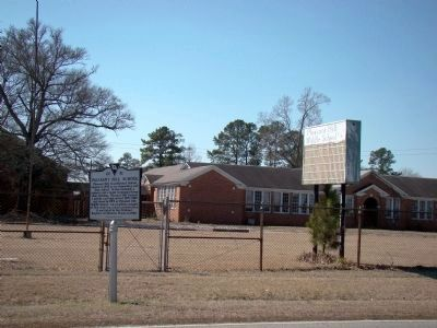 Pleasant Hill School and Marker image. Click for full size.