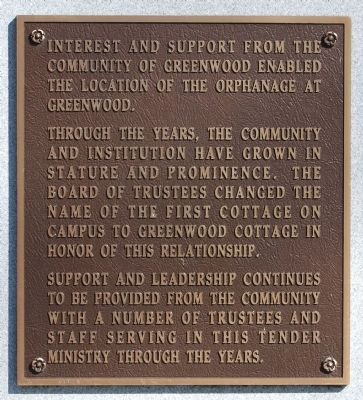 Constance Pope Maxwell Marker -<br>West Side image. Click for full size.