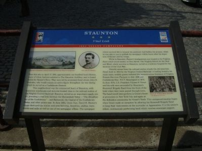 Staunton Marker Photo, Click for full size