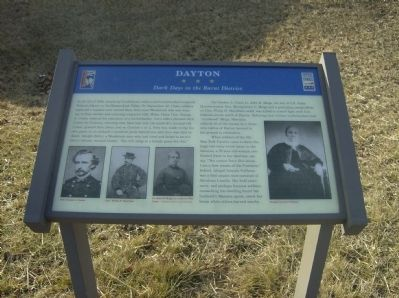 Dayton Marker Photo, Click for full size